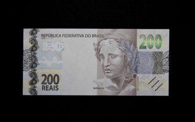 Lançada nota de R$ 200 reais com lobo-guará estampado na cédula